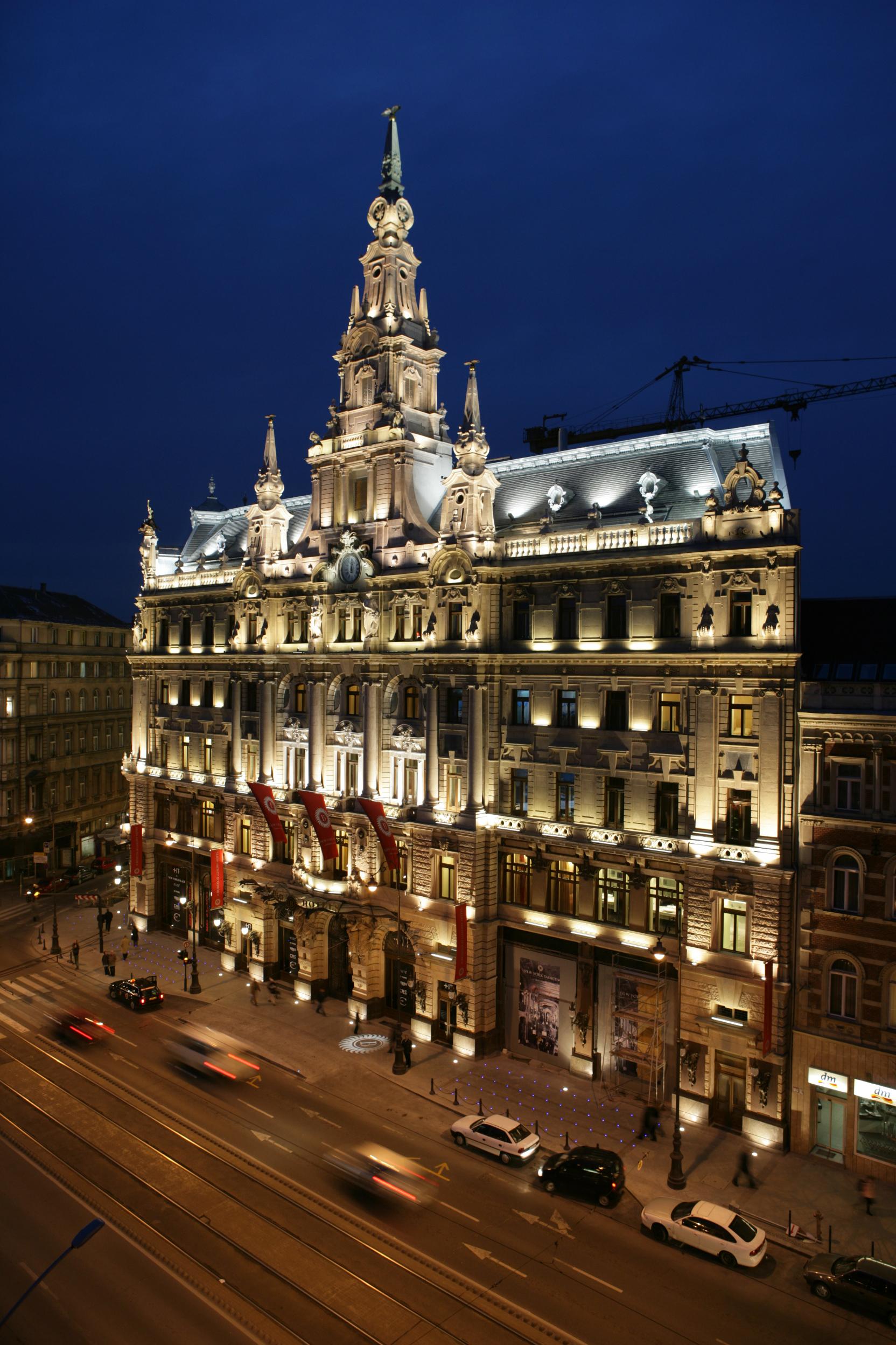 Hotell og overnatting i Budapest